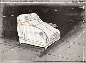 Wrapped Armchair Project by Christo JAVACHEFF