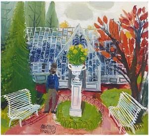 Växthuset by Olle OLSSON HAGALUND