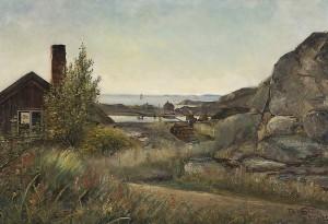 Landscape by Edvard WESTMAN