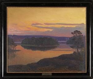 Tyresö Sommaren 1913 by Mathias 'Mattis' TAUBE