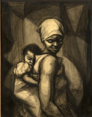 Madonna Of Winneba by Herman Kofi BAILEY