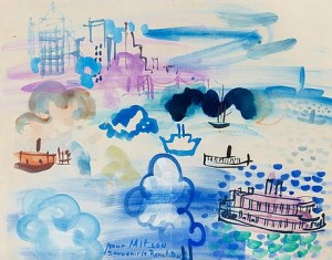 Motif From New York by Raoul DUFY
