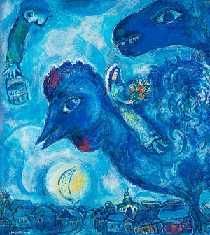 Le Rêve De Chagall Sur Vitebsk by Marc CHAGALL