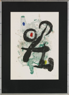 Le Faune by Joan MIRO