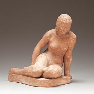 Sittande Kvinna by Bror FORSLUND