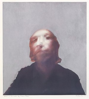 A Portrait Of The Artist By Francis Bacon by Richard HAMILTON