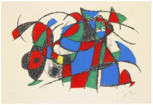 Untitled From Joan Miró Lithographe Ii by Joan MIRO