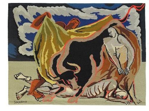 Galeria De Arte El Sol, Buenos Aires 1973 by Oswaldo GUAYASAMIN
