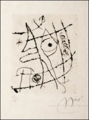 Without Title. by Joan MIRO