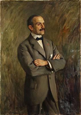 Mansporträtt by Ivar KAMKE