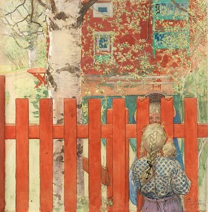 Staketet / Vid Staketet by Carl LARSSON
