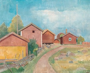 View From Sondby by Ragnar EKELUND