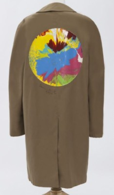 Spin Painting On Libertine Jacket by Damien HIRST