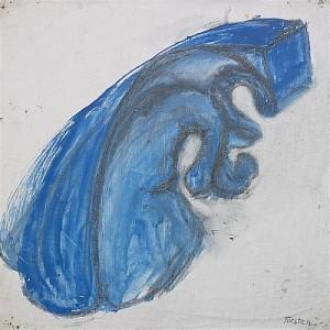 Blå Figur by Torsten 'Torsten' ANDERSSON
