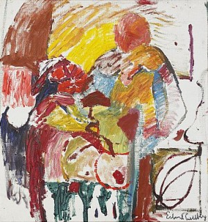 Människor/man I Stol by Erland CULLBERG