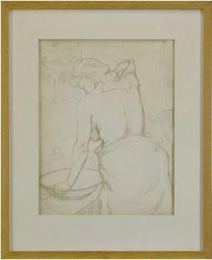 Femme Qui Se Lave - La Toilette by Henri De TOULOUSE-LAUTREC