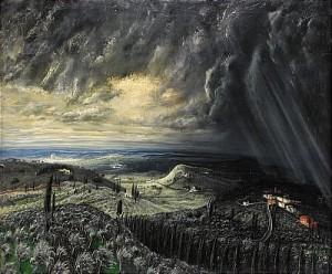Italienskt Fantasilandskap Ii by Martin ÅBERG