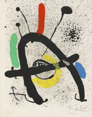 Cahier D Ombres by Joan MIRO
