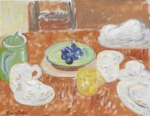 Frukostbordet by Tor BJURSTRÖM