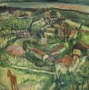 Paysage à L'âne by Chaim SOUTINE