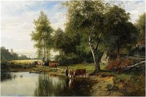 L'abreuvoir by Edward BERGH