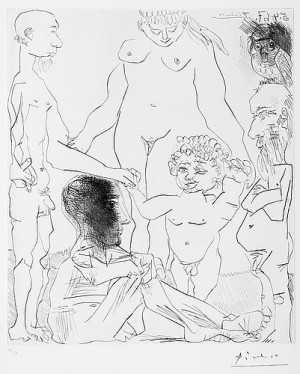Untitled, 5.4-67 by Pablo PICASSO