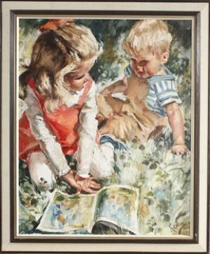 Läsande Barn by Charles ROKA