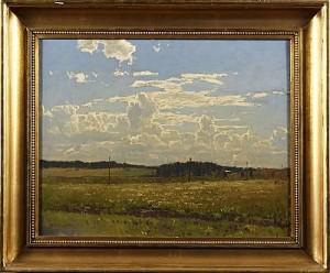 Sommarlandskap by Alfred BERGSTRÖM
