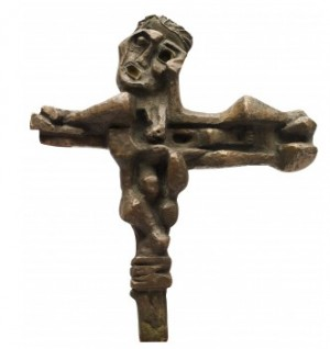 Crucified by Ernst Isopovich NEIZVESTNY