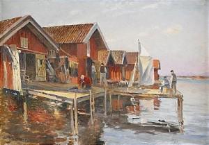 Fiskeläge - Bohuslän by Johan ERICSON