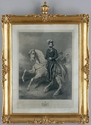 Porträtt Av Kung Karl Xv Till Häst by Carl Fredrik KIÖRBOE