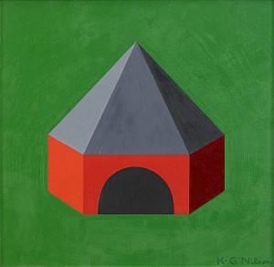 Röd-gröna Huset by Karl-Gustaf 'Kg' NILSON