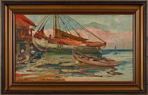 Fiskebåtar by Emil ZOIR