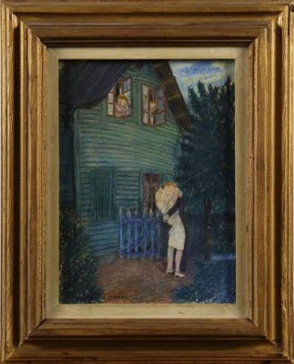 Sommarnatt - årstadal by Kurt LINDON