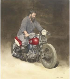 Biker by John-Erik FRANZÉN