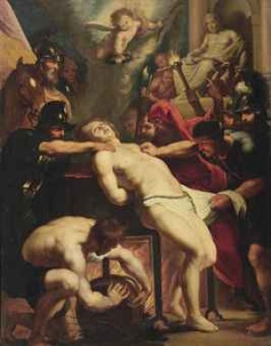 The Martyrdom Of Saint Lawrence by Peter Paul RUBENS