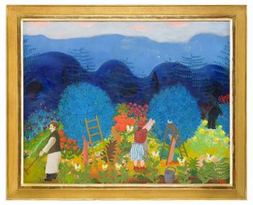 Skördetid I Provence by Lennart JIRLOW