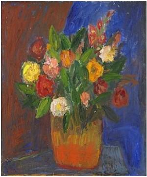 Blommor I Kruka by Ivan IVARSON