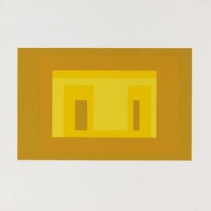 Ten Variants, The Portfolio Comprising 10 Silkscreen In Colors by Josef ALBERS