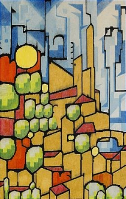 Staden På Berget by Otto G. CARLSUND