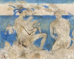 Strandpromenad by Ragnar SANDBERG