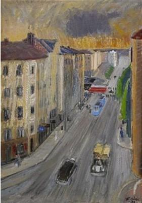 Skånegatan by Gideon BÖRJE