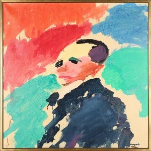 Porträtt by Olle LANGERT