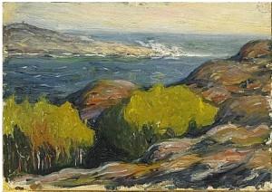 Kustbild by Olof SAGER-NELSON