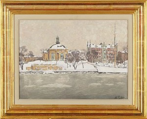 Skeppsholmen by Nils TYDÉN