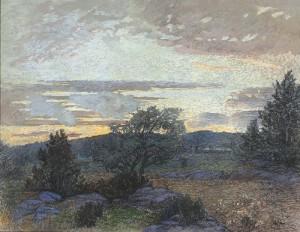 Afton I Skärgården No 2 by Olga NYBLOM