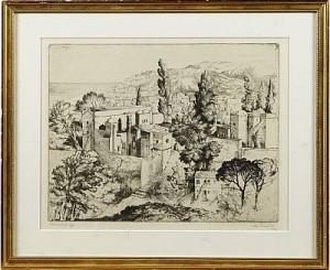 Stadsbild Från Alger by Stig BORGLIND