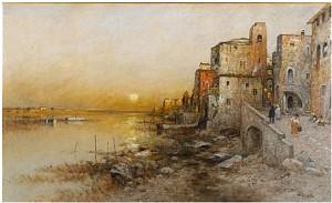 Solnedgång by Wilhelm Von GEGERFELT