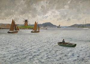 Utsikt Från Marstrands Hamn by Johan ERICSON