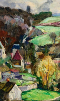 Paysage by Georges Anatolievich POGEDAIEFF